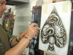 Airbrush Classes - SM Designs